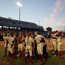 florida state wins game 1 of the wcws championship series