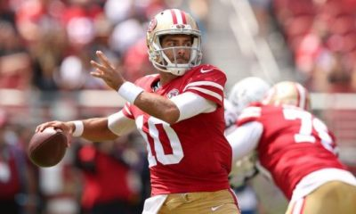 another sign pointing to jimmy garoppolo starting at qb for